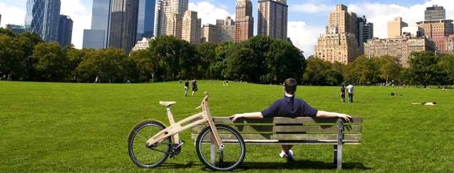 verde urbano bici