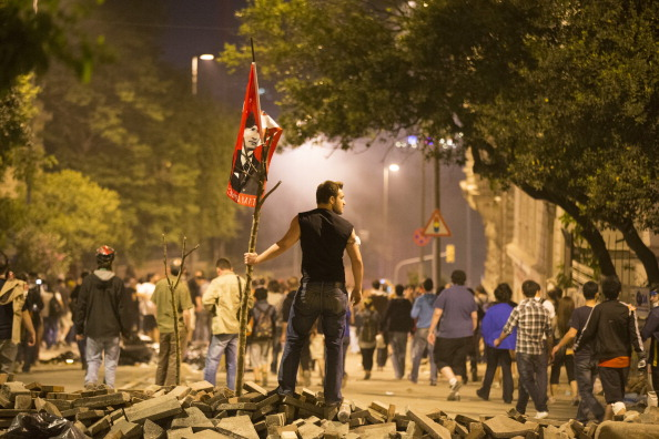 Tensions Grow As Demonstrations Against The Government Continue In Istanbul