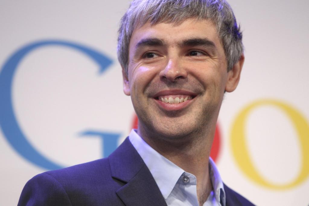 Ap fuori circuitole immagini sono extra circuito abbonamento e quindi a pagamento.Contattare: massimo.zanotti@lapresse.itGoogle CEO Larry Page speaks at a news conference at the Google offices in New York, Monday, May 21, 2012.