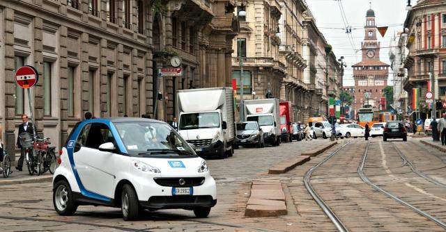 Car2go-Milano